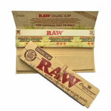 RAW Organic Hemp Connoissuer